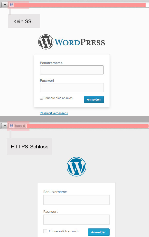 HTTPS-Login