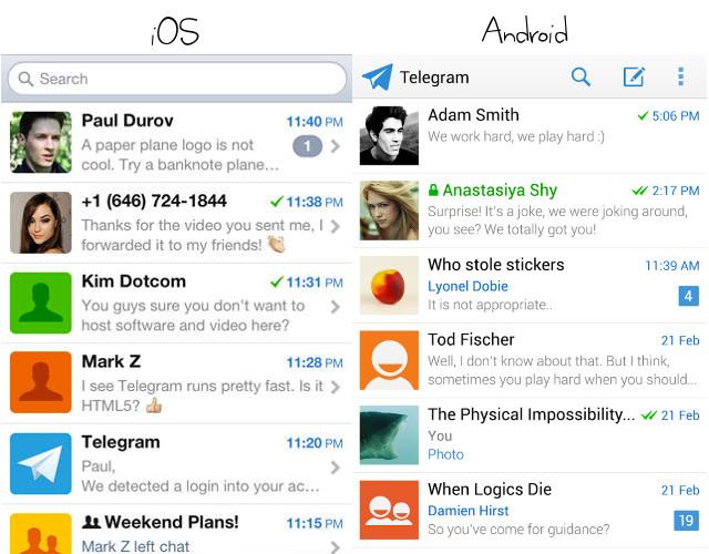 Telegram Android Ios Endlich Ein Sicherer Messenger Kuketz It Security Blog