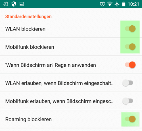 eb869dbb828877 NetGuard Firewall – Android unter Kontrolle Teil4 ⋆ Kuketz IT ...