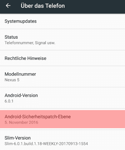 android sicherheitspatch