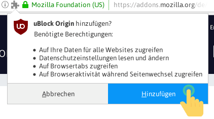 Ublock origin medium mode